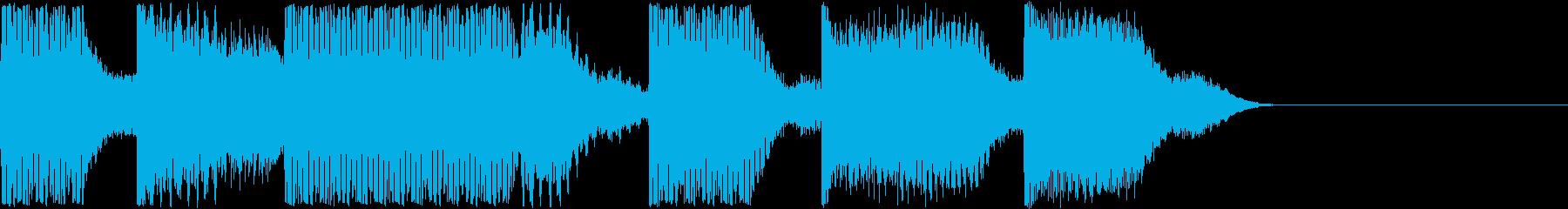 AI メカ/ロボ/マシン動作音 26の再生済みの波形