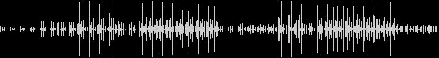 トラップ、冬、BGMの未再生の波形