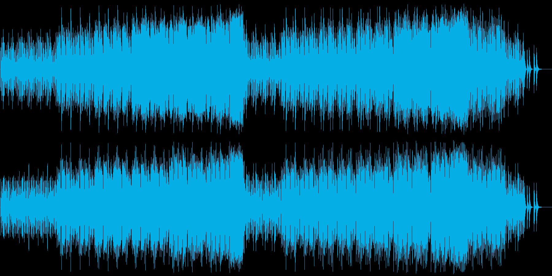 不思議な森/小人の行進の再生済みの波形