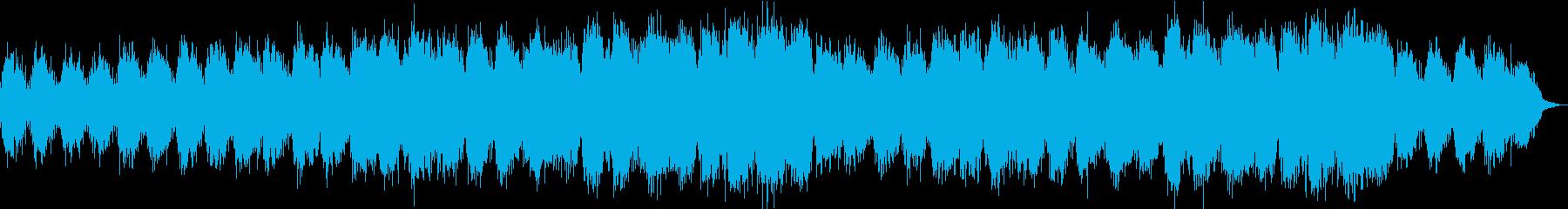 癒されるアンビエント系オーケストラの再生済みの波形