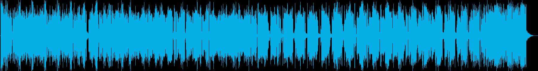 イメージ ストレスアウトロボット01の再生済みの波形
