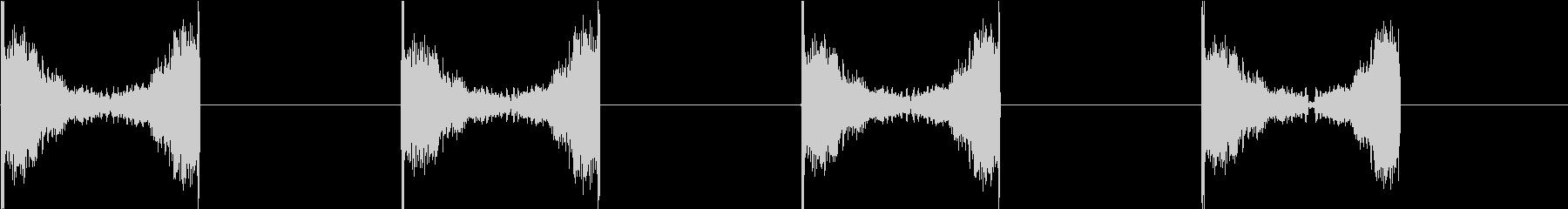 DJプレイ スクラッチ・ノイズ 30の未再生の波形