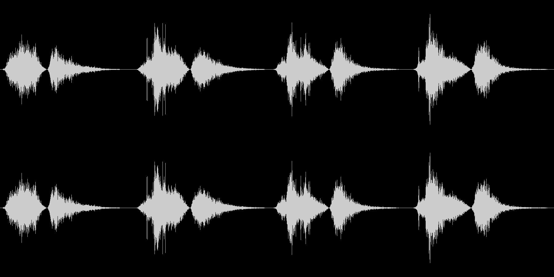 モンスター いびきブレス01の未再生の波形