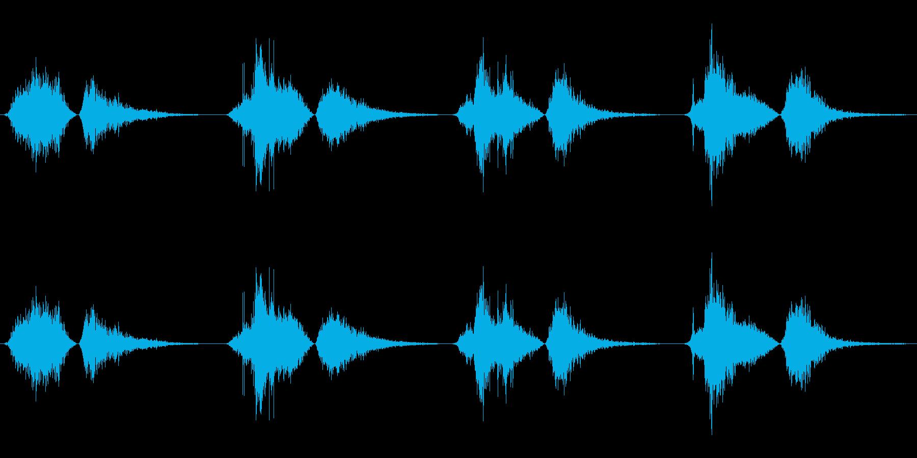 モンスター いびきブレス01の再生済みの波形