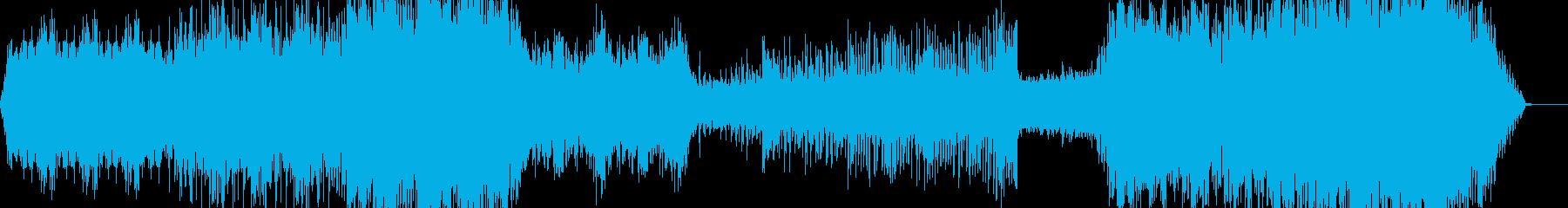 映像、機械的、工業的ーModernの再生済みの波形