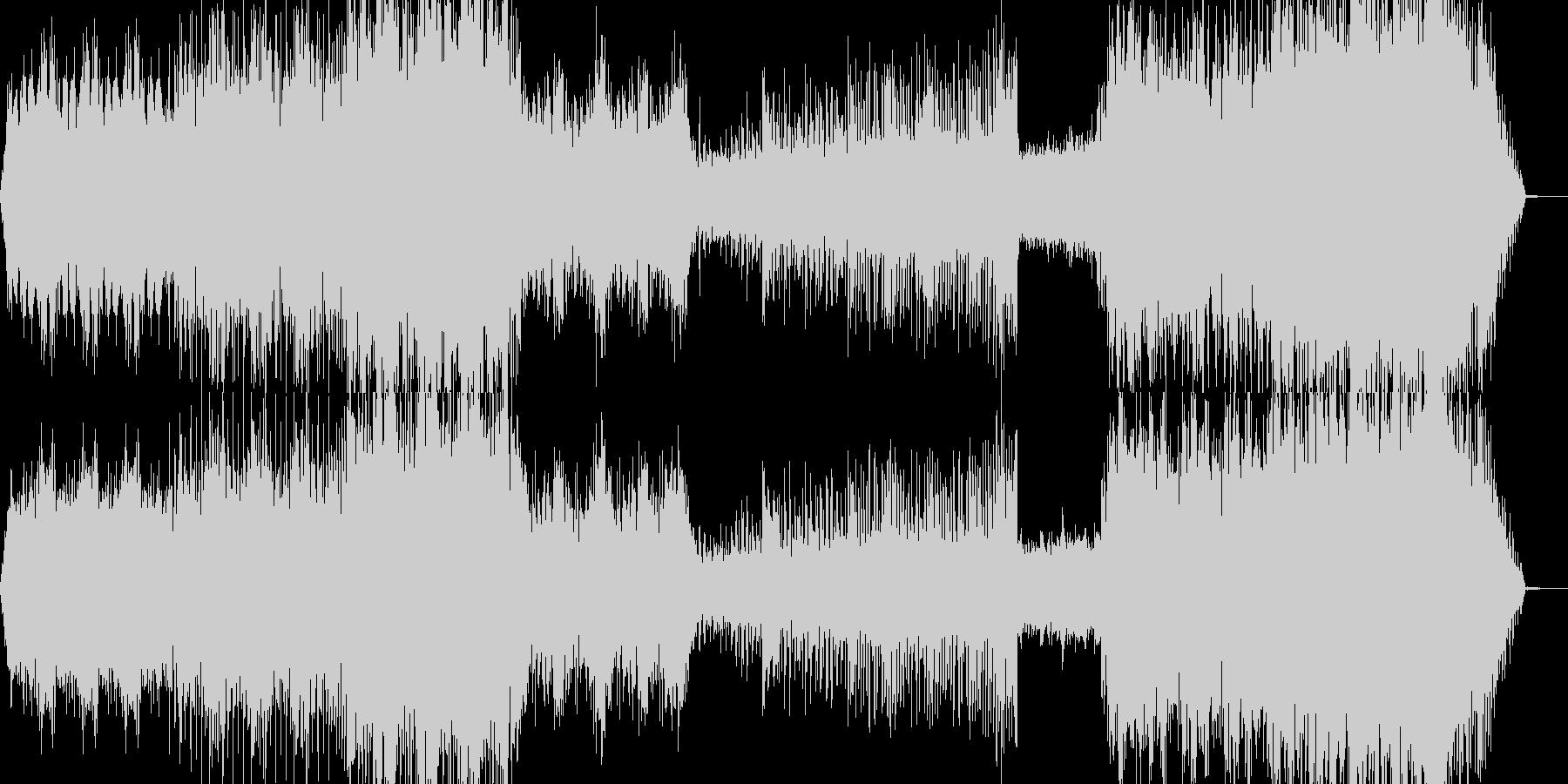映像、機械的、工業的ーModernの未再生の波形