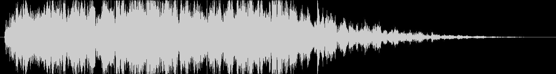 ピコピコ(神秘的な宇宙ミステリー)の未再生の波形