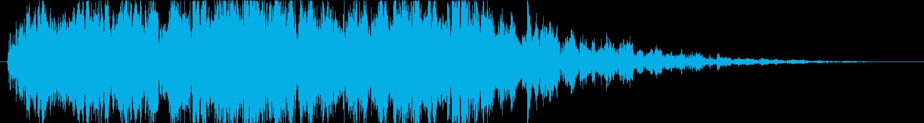 ピコピコ(神秘的な宇宙ミステリー)の再生済みの波形