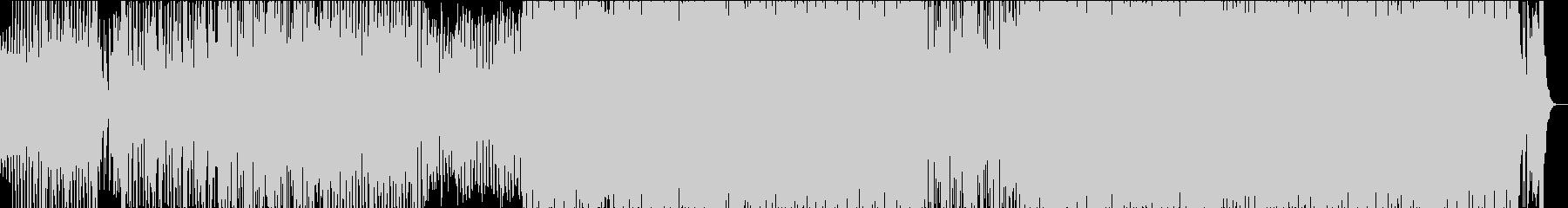 宇宙船をイメージしたEDMの未再生の波形