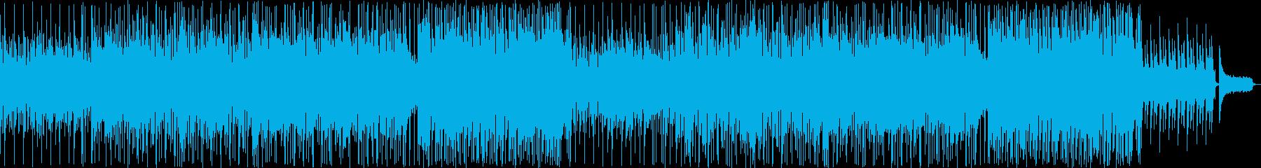 金属音がアクセントの美しいバラードの再生済みの波形