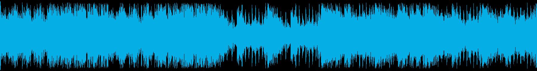その名の通り『ヤるかヤられるか』なBGMの再生済みの波形
