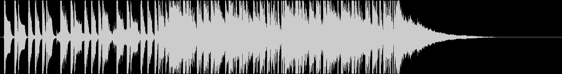 CM向けサーフロックの未再生の波形