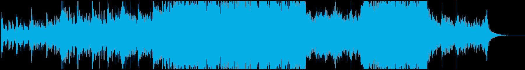 大編成オケの再生済みの波形