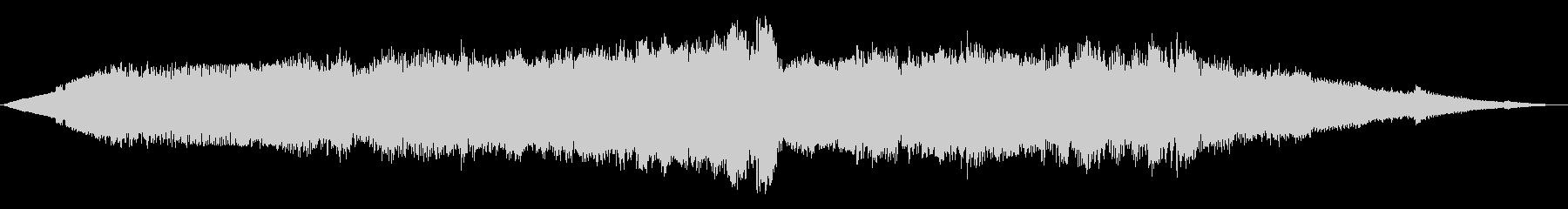 ワープフィールド1の未再生の波形