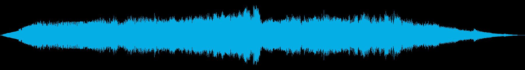 ワープフィールド1の再生済みの波形