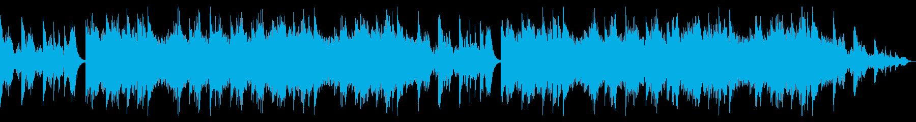 幻想的なオルゴールが印象的な癒し系BGMの再生済みの波形