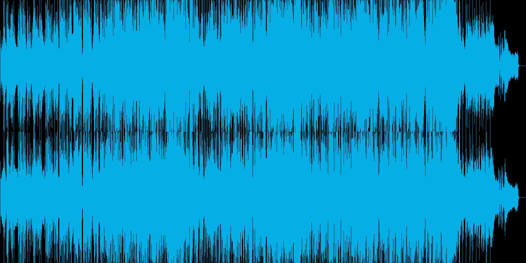 ゆったりとした雰囲気のジャズブルースの再生済みの波形
