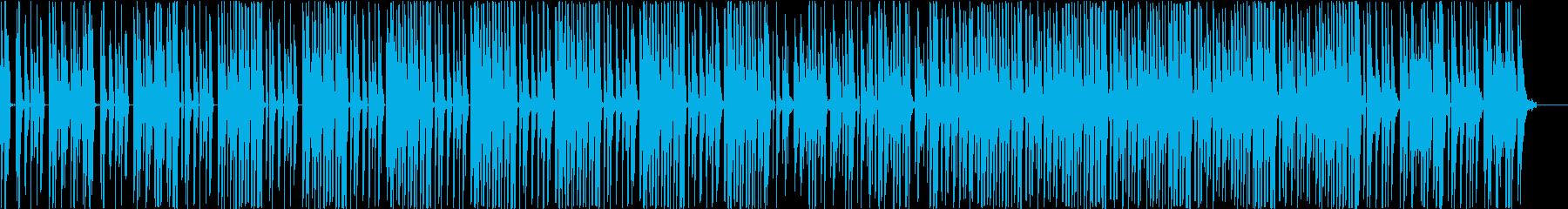 変拍子のダンスチューン インストの再生済みの波形
