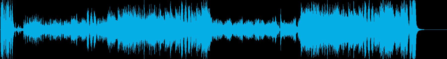 優雅でセレブなオーケストラワルツの再生済みの波形