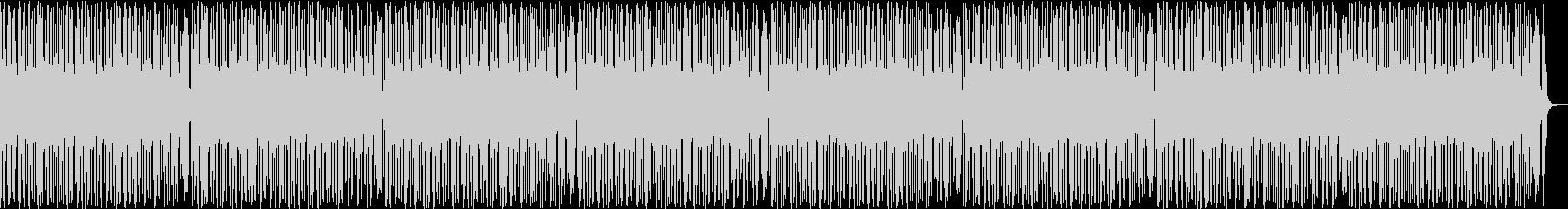 おしゃれでクールなファンキーBGMの未再生の波形