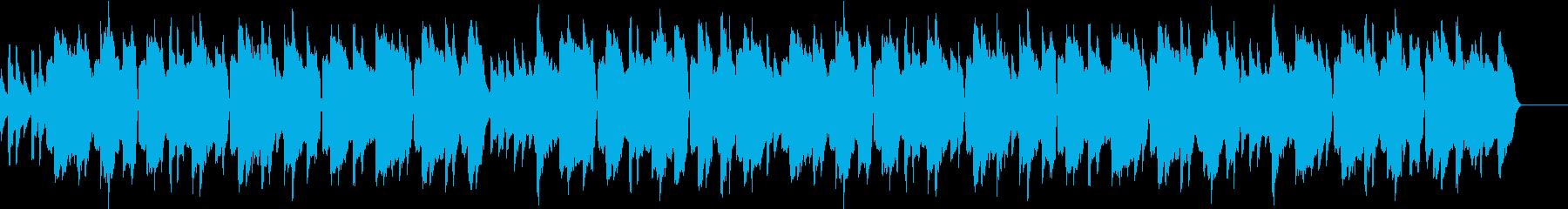 静かで優美なクラリネットのメロディーの再生済みの波形
