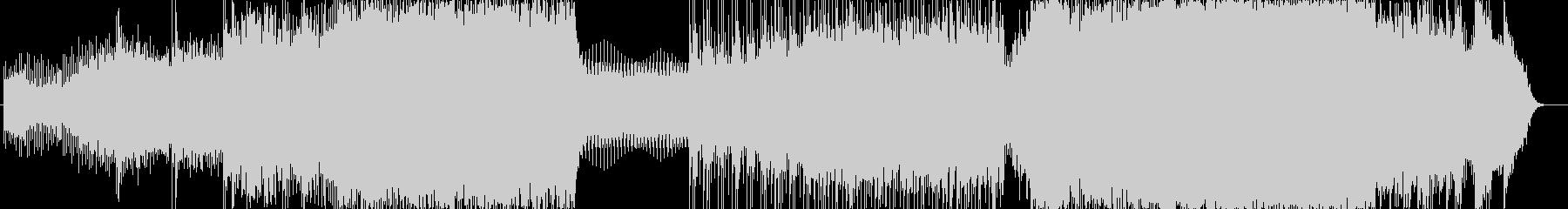 ファンクの未再生の波形