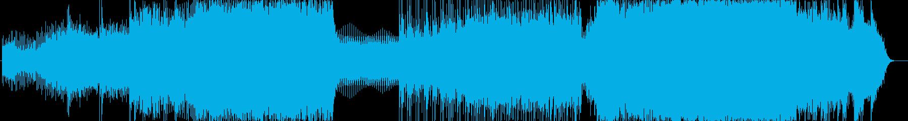 ファンクの再生済みの波形