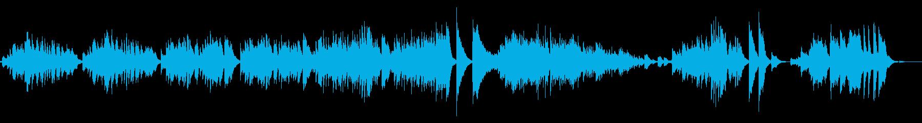 明るく厳格のあるクラシックピアノの再生済みの波形