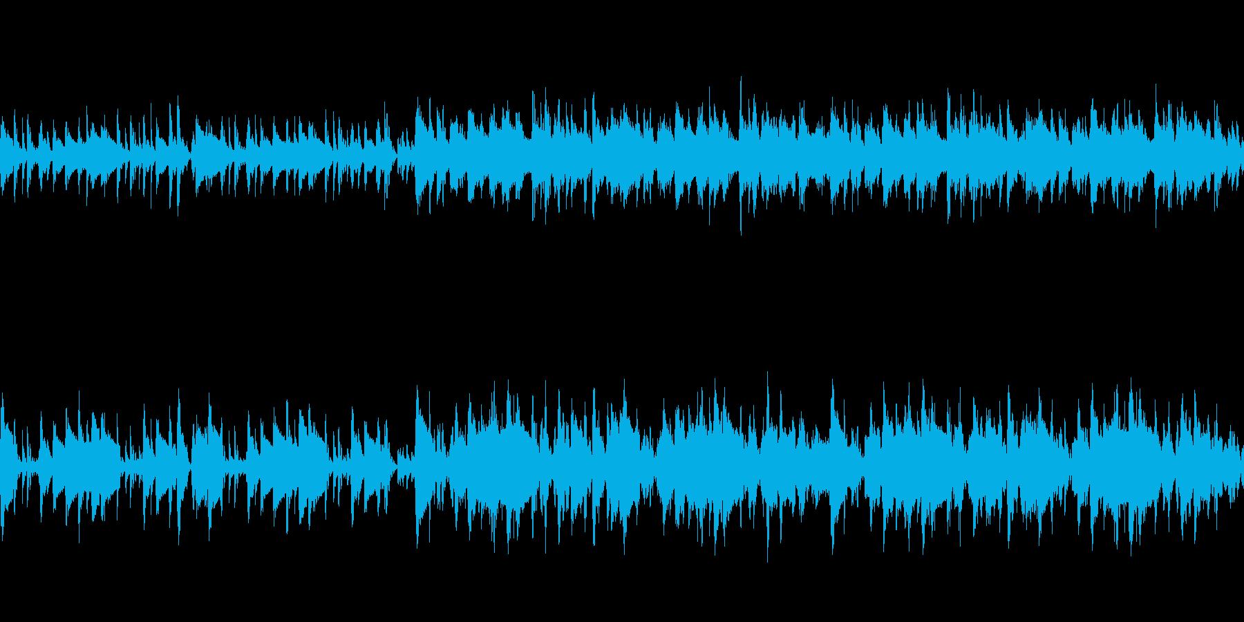 【Loop】アダルトチックなジャズの再生済みの波形
