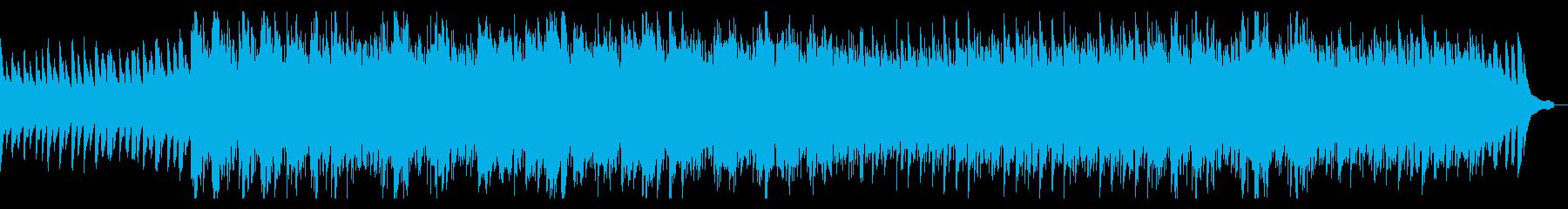 癒し・リフレッシュの再生済みの波形