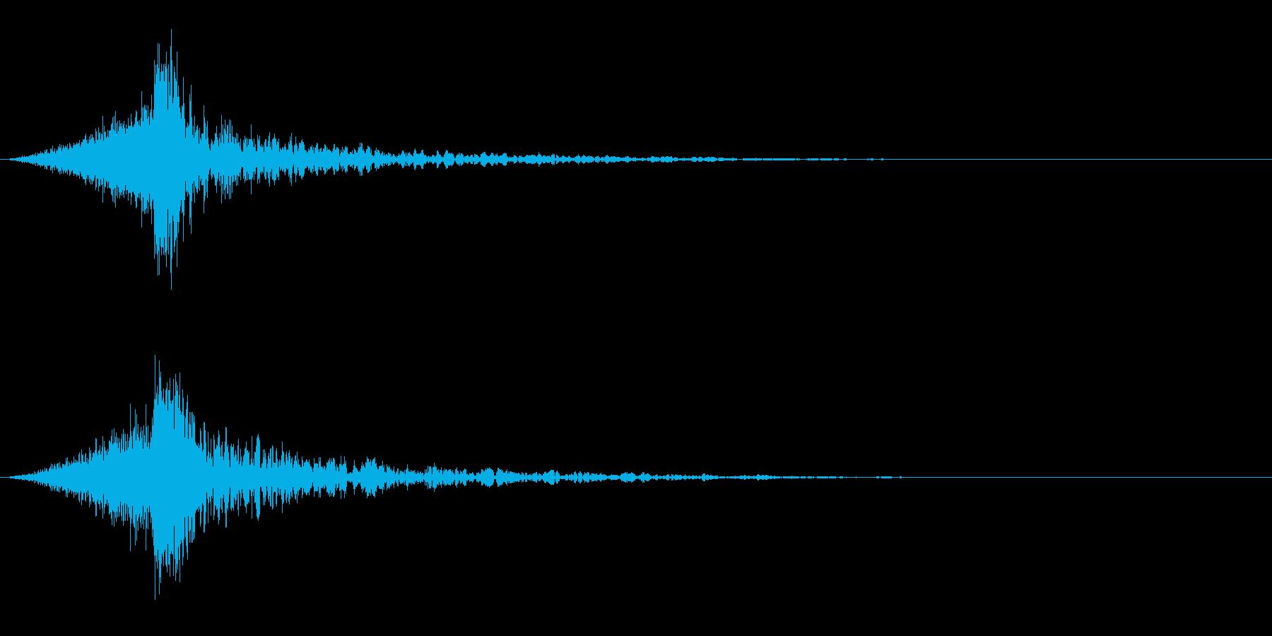シュードーン-37-4(インパクト音)の再生済みの波形