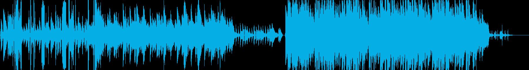 哀愁とメルヘン感の女性ボーカル曲の再生済みの波形