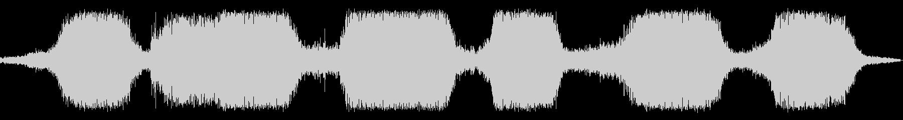 ザザザザパーン(砂場の波の音)の未再生の波形