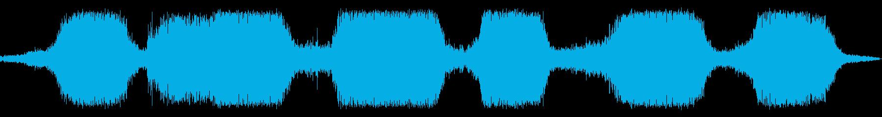 ザザザザパーン(砂場の波の音)の再生済みの波形