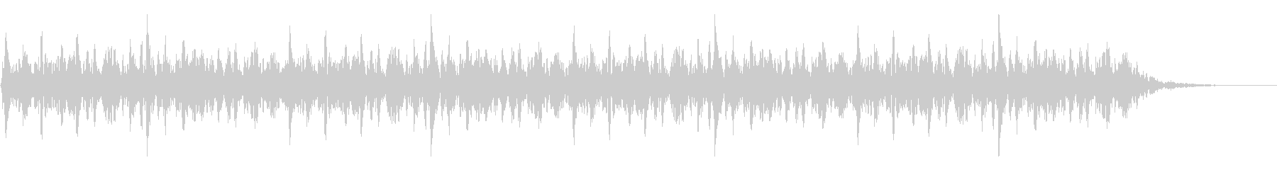 太鼓 躍動的 迫力 効果音 パターン#6の未再生の波形
