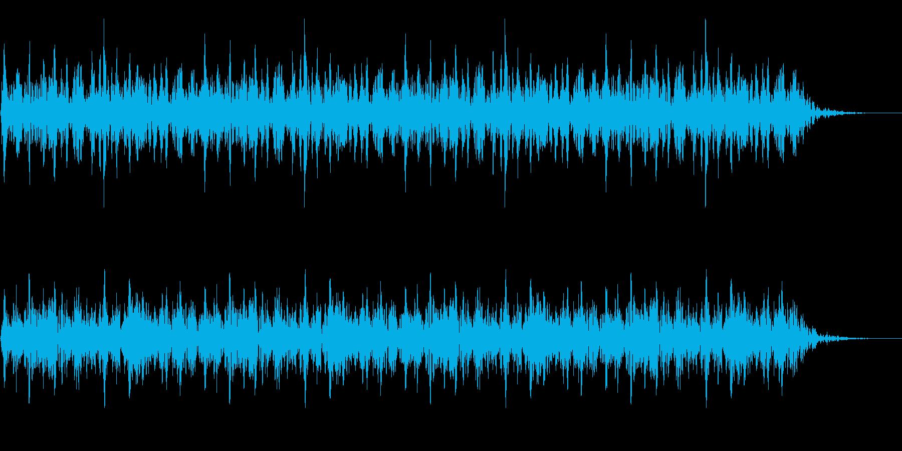 太鼓 躍動的 迫力 効果音 パターン#6の再生済みの波形