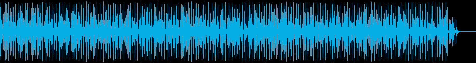 口笛ギターほのぼの明るいアウトドアな曲の再生済みの波形