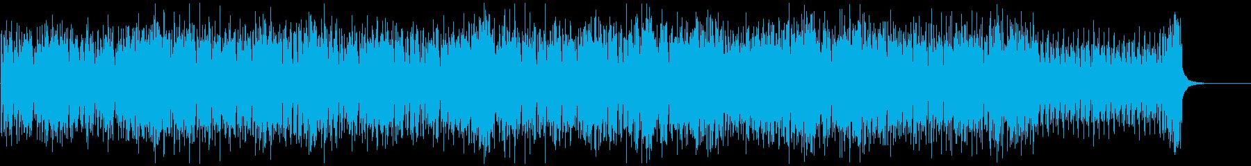 ピコピコしたレトロゲーム風の曲2の再生済みの波形
