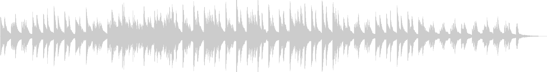 切ない・感動的・バラード・ピアノ・映像用の未再生の波形