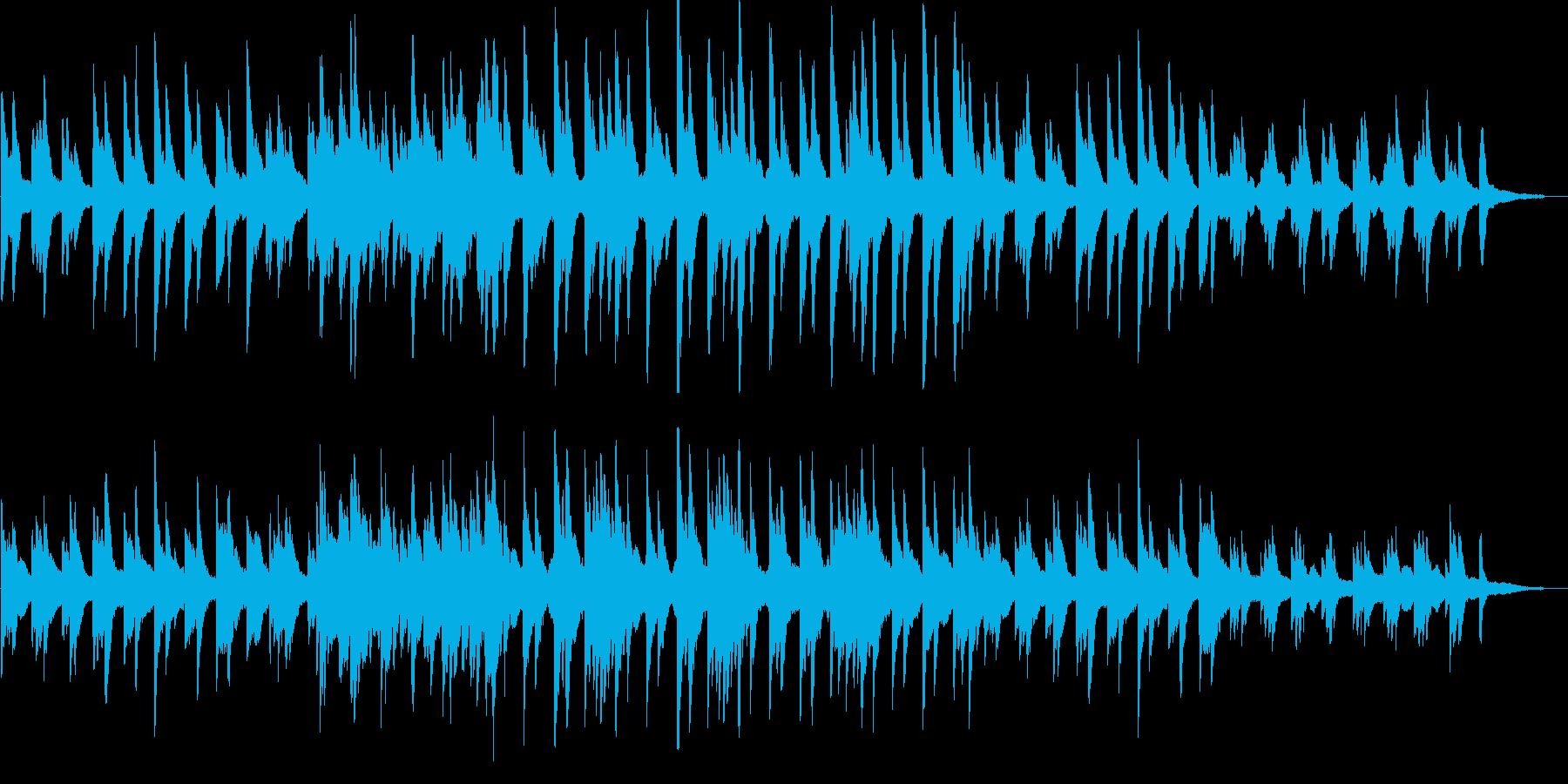 切ない・感動的・バラード・ピアノ・映像用の再生済みの波形