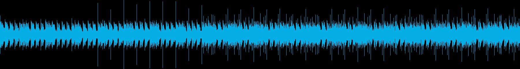 クールでかっこいいヒップホップ風のループの再生済みの波形