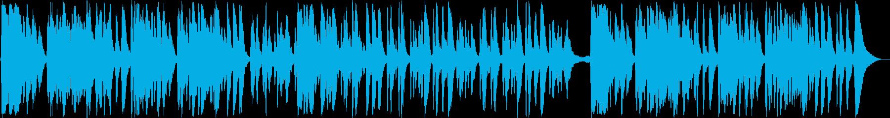 弦楽器の快適なイージーリスニング曲の再生済みの波形