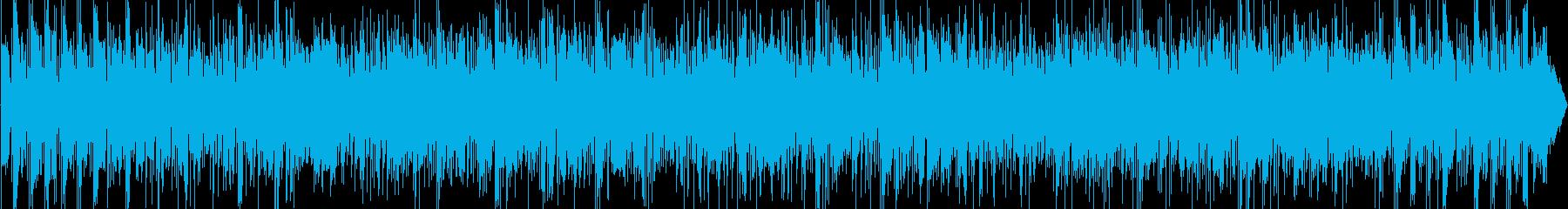 スムースジャズ、スタイリッシュ、エレピの再生済みの波形