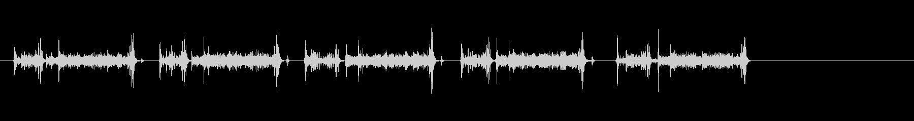 電話ダイヤル;ロータリー;ダイヤル...の未再生の波形