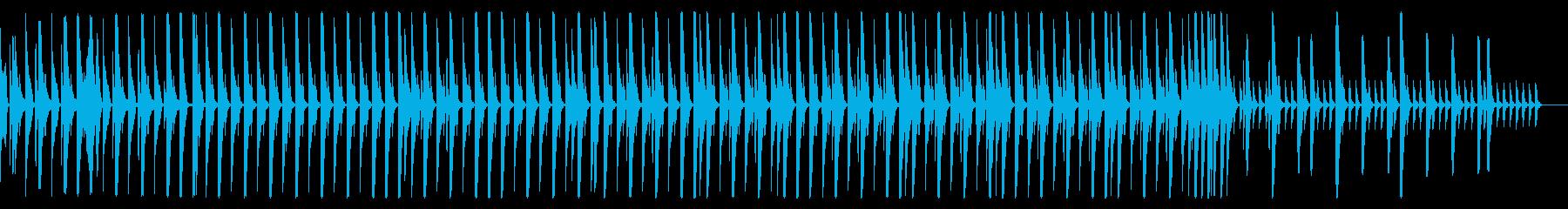 EDM風 リズムのみ 1分の再生済みの波形