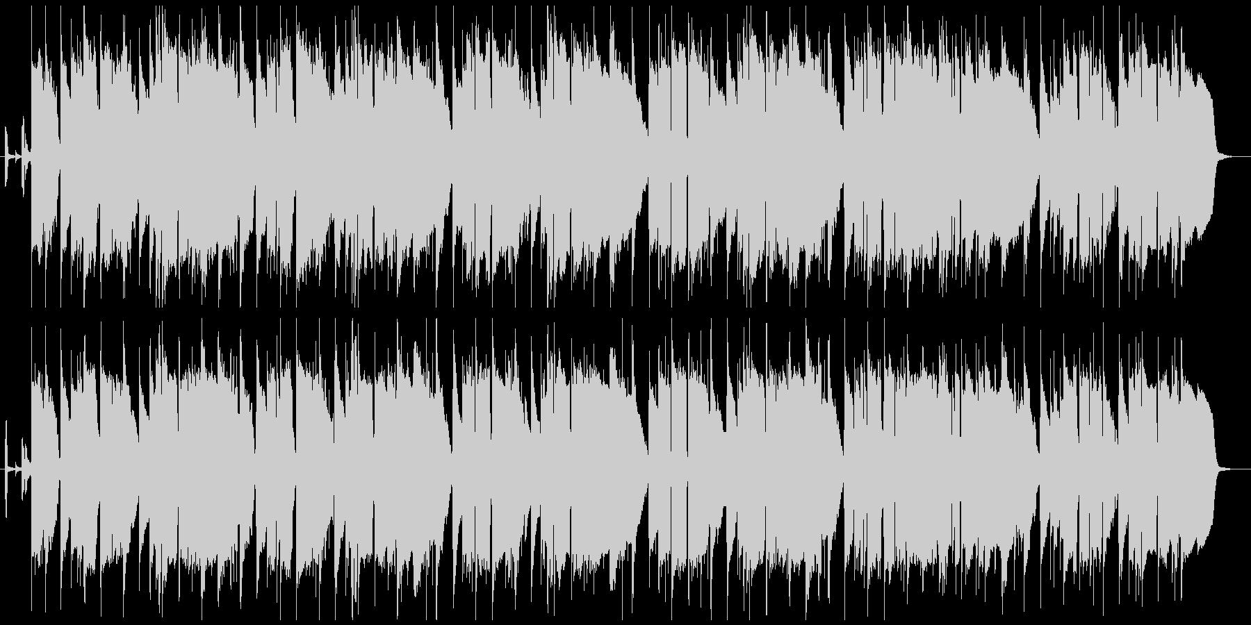 ゆったりとしたラウンジジャズの未再生の波形