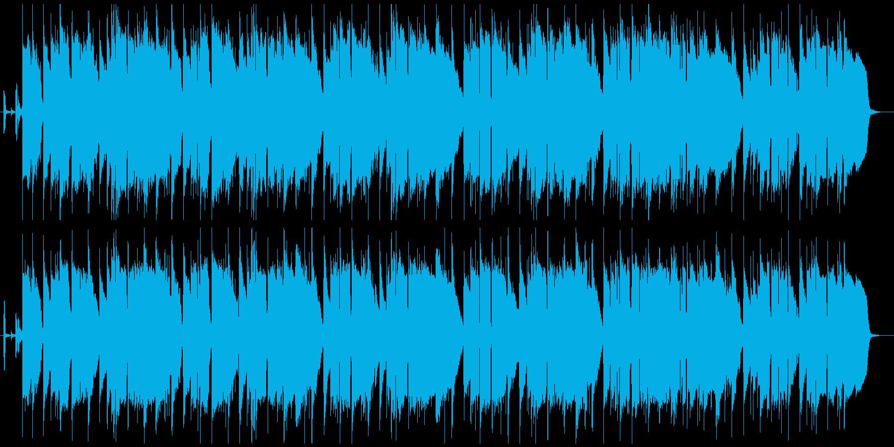 ゆったりとしたラウンジジャズの再生済みの波形