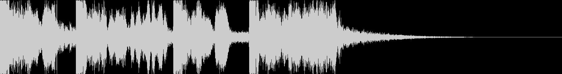 ボーカルチョップのお洒落ポップジングル♫の未再生の波形