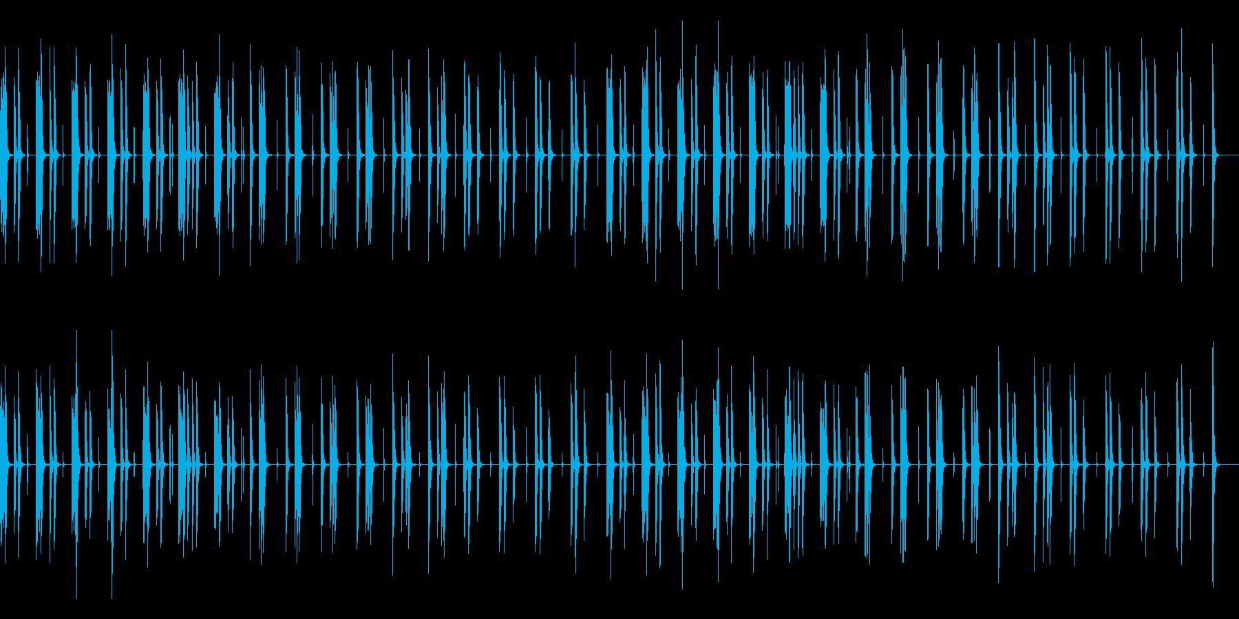 ほのぼの、日常、トーク、ゆるいの再生済みの波形