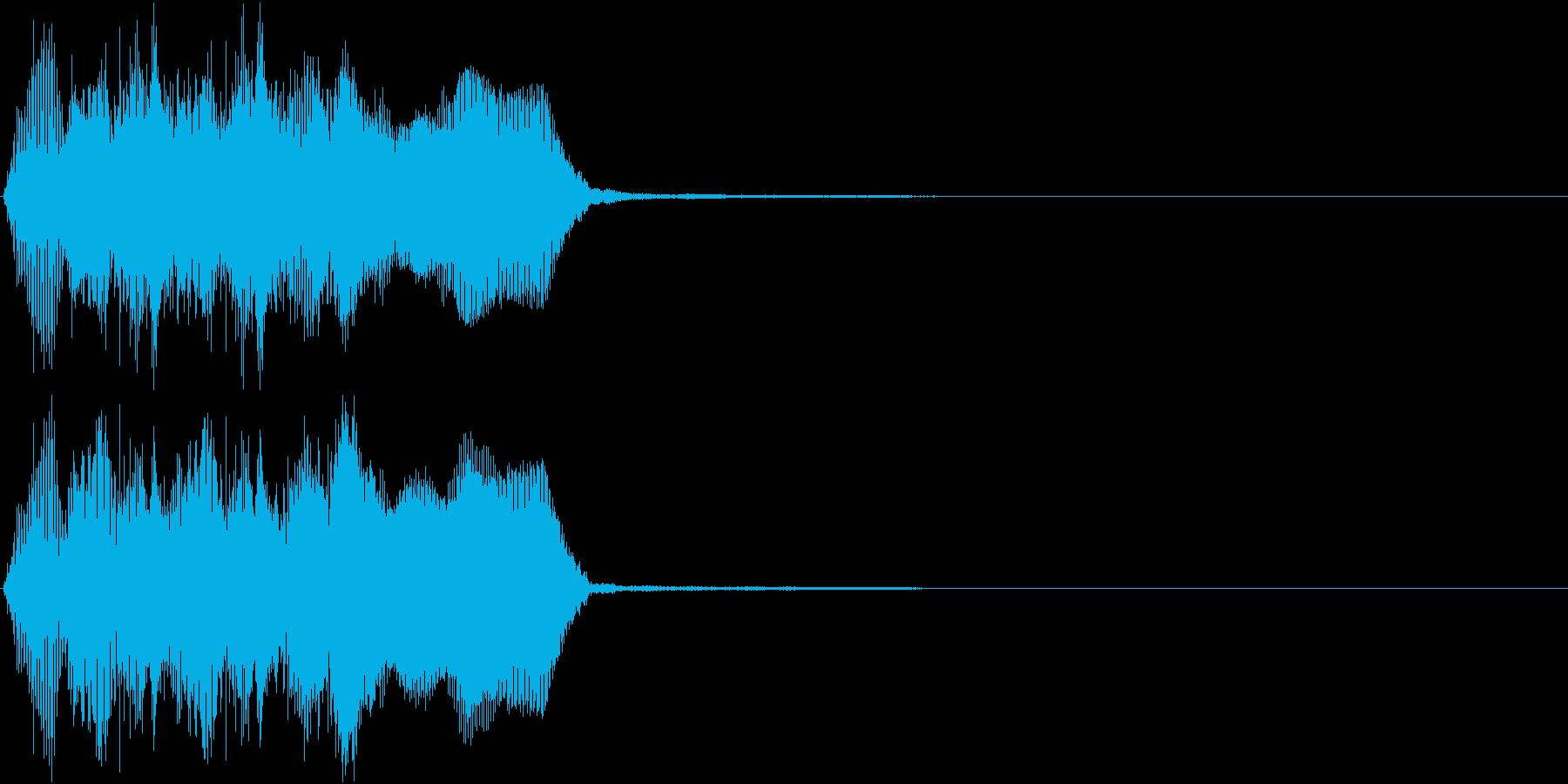 トランペット ファンファーレ 定番 17の再生済みの波形